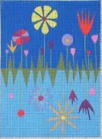 ZE 395 Spring Garden Needle Case
