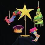 5 ornaments form Ornament club