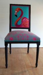 ZE 321, 324 Flamingo Portrait , and seat