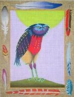 ZE 318 Vested Owl