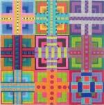 ZE 362 Ribbon Squares