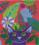ZE 481 Purple Cat