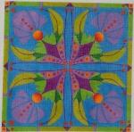 ZE 565 Flower Tiles
