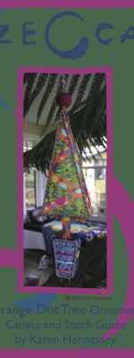Orange Dot Tree Stitch Guide