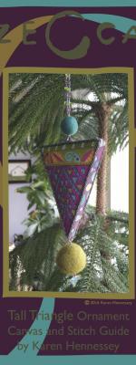 Tall Triangle Ornament Stitch Guide