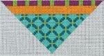 ZE 436 Orange Dot Triangle